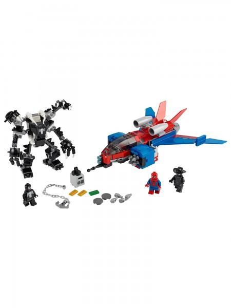 Lego - Spiderjet vs. Venom Mech