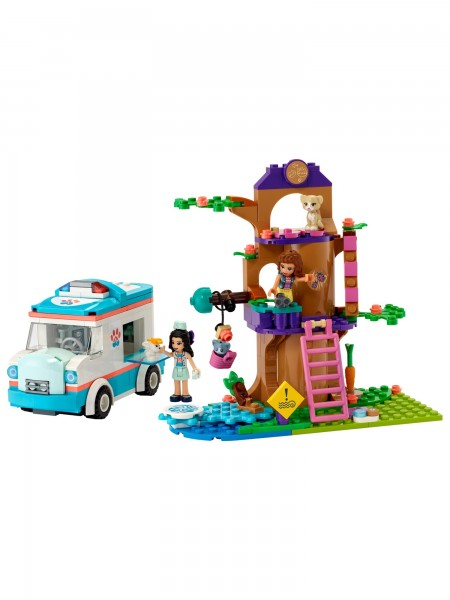 Friends - Lego - Tierrettungswagen
